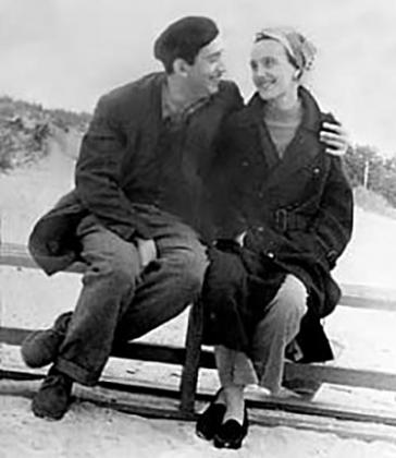 Александр Галич с супругой Ангелиной Шекрот.
