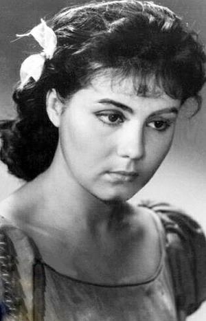Красавица Валентина Малявина в юности