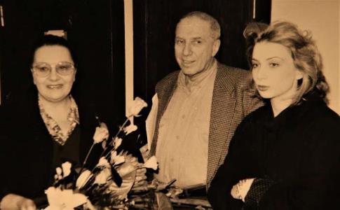 На фото: Наталья Тенякова с мужем Сергеем Юрским и дочерью Дарьей