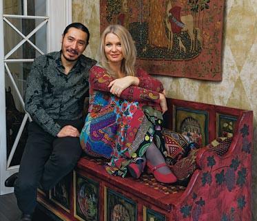 Анастасия и её муж Вениамин Скальник