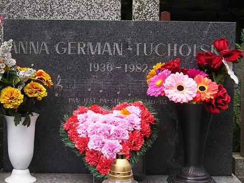 Могила Анны Герман