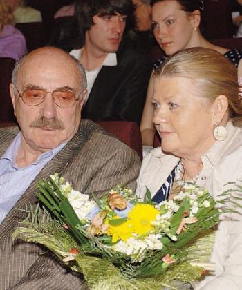 Ирина Муравьева и Леонид Эйдлин