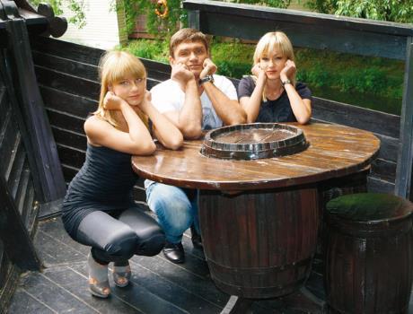 Семья Игоря Лифанова
