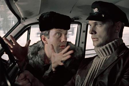 Олег Видов в роли таксиста-лейтенанта