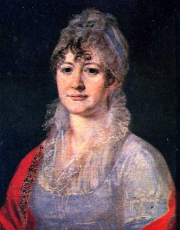 Бабушка Михаила Лермонтова - Елизавета Алексеевна Арсеньева