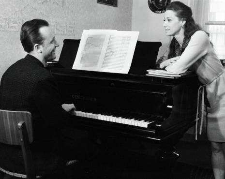 Плисецкая с мужем Щедриным
