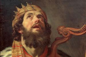Царь Давид - биография, история жизни царя: С пращой и арфой