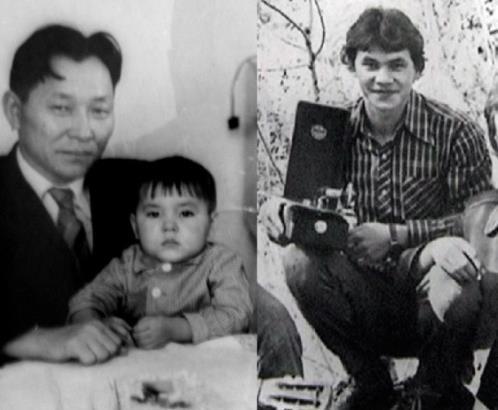 Сергей Шойгу в детстве и в молодости