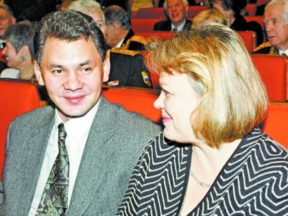 Сергей Шойгу с женой Ириной