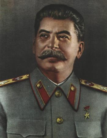 Генералиссимус Советского Союза Иосиф Сталин