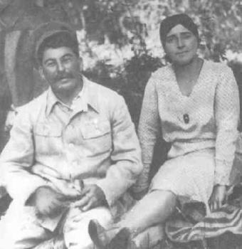 Иосиф Сталин и Надежда Аллилуева