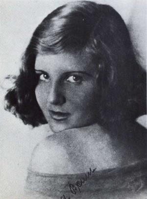 Ева Браун в молодости