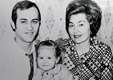 Василиса Володина с родителями