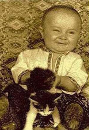 Юра в раннем детстве