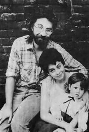 Юрий Шевчук с первой женой Эльмирой и сыном Петром