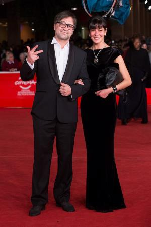 Юрий Шевчук с женой Екатериной