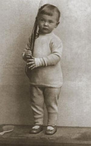 Сережа Есенин в детстве