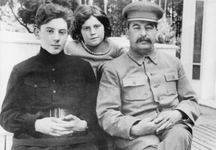 Дети и муж Надежды Аллилуевой