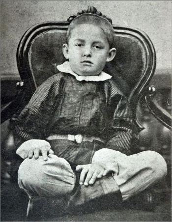 Костя Циолковский в детстве