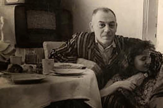 Василий Сталин с последней женой