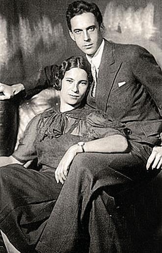 Агния Барто с мужем