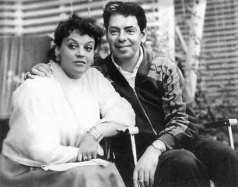 Аркадий Райкин с супругой Руфь