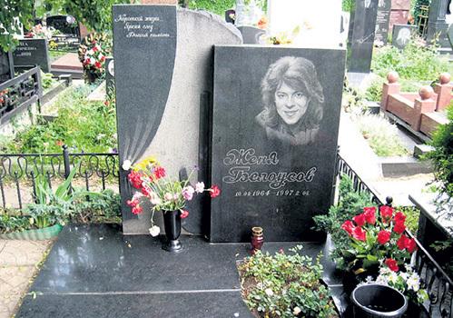 Могила Жени Белоусова