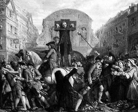 Даниель Дефо во время гражданской казни