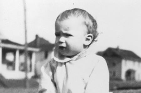 Джон Маккейн в детстве