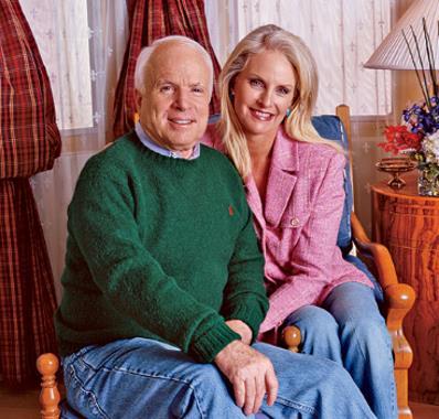 Джон Маккейн с супругой Синди
