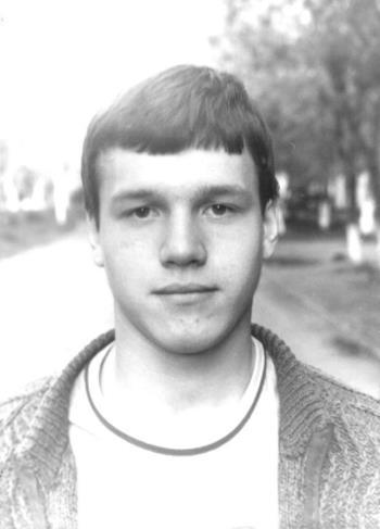 Сергей Наговицын в юности