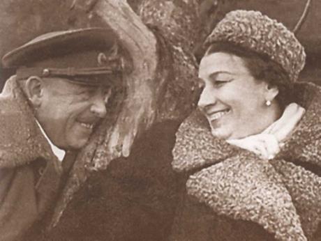 Лидия Русланова и Владимир Крюков