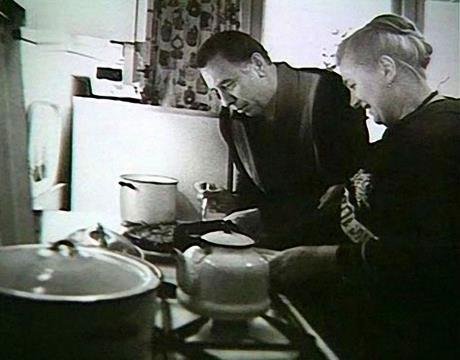 Анатолий Папанов с супругой Надеждой Каратаевой