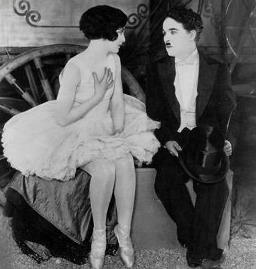 Хетти Келли - танцовщица, первая любовь  Чаплина.