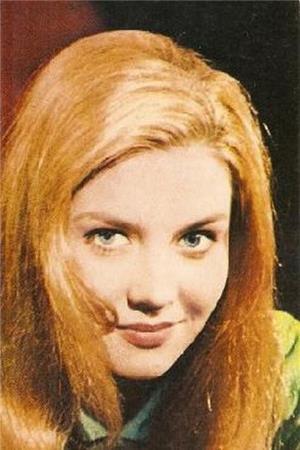 Лилита Озолиня в молодости