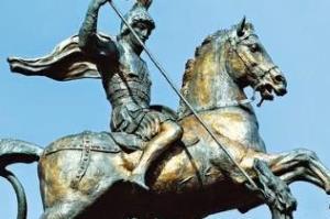 Георгий Победоносец - биография, фото. Георгиевский крест. Чудесный змееборец