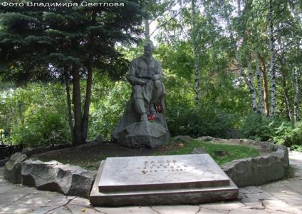 Могила Павла Бажова