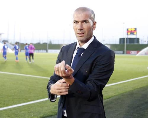 "Зидан - тренер ""Реала"""