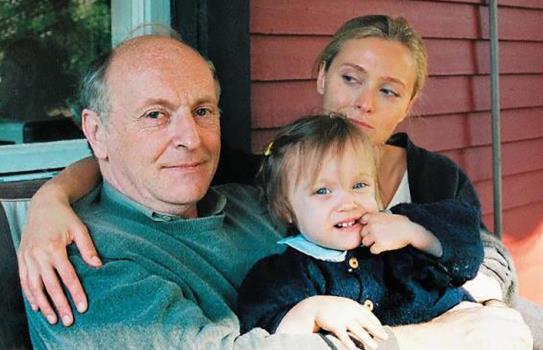 Иосиф Бродский с супругой Марией Соццани и дочкой