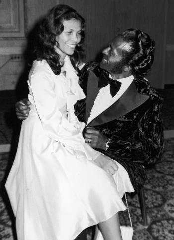 Теметта - жена Чака Берри прожила с ним всю жизнь