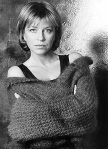 Оксана Афанасьева в молодости