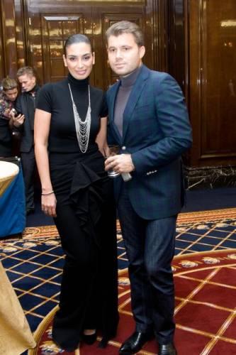 Олег Рой со второй женой