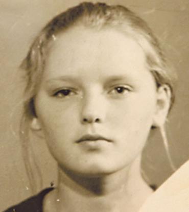 Лариса Вербицкая в детстве