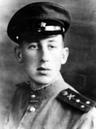 Владимир Басов в конце войны