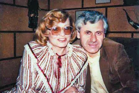 Агелина Вовк с Индржихом Гецем
