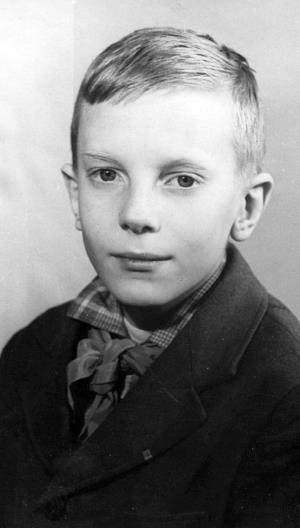 Виктор Салтыков в детстве