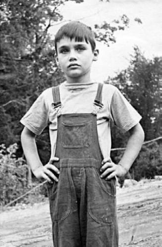 Володя Познер в детстве