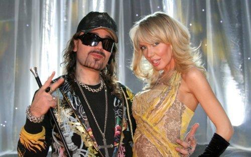 Богдан Титомир с Машей Малиновской