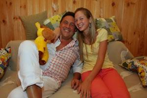 Ренат с молодой женой
