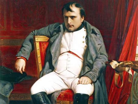Наполеон Бонапарт  незадолго перед смертью